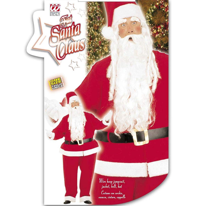 WIDMANN XXXL Fat Santa Claus Costume (disfraz): Amazon.es ...