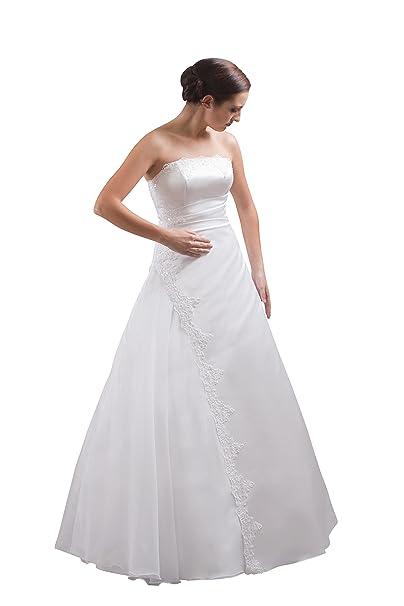 Vestidos de novia crema y blanco