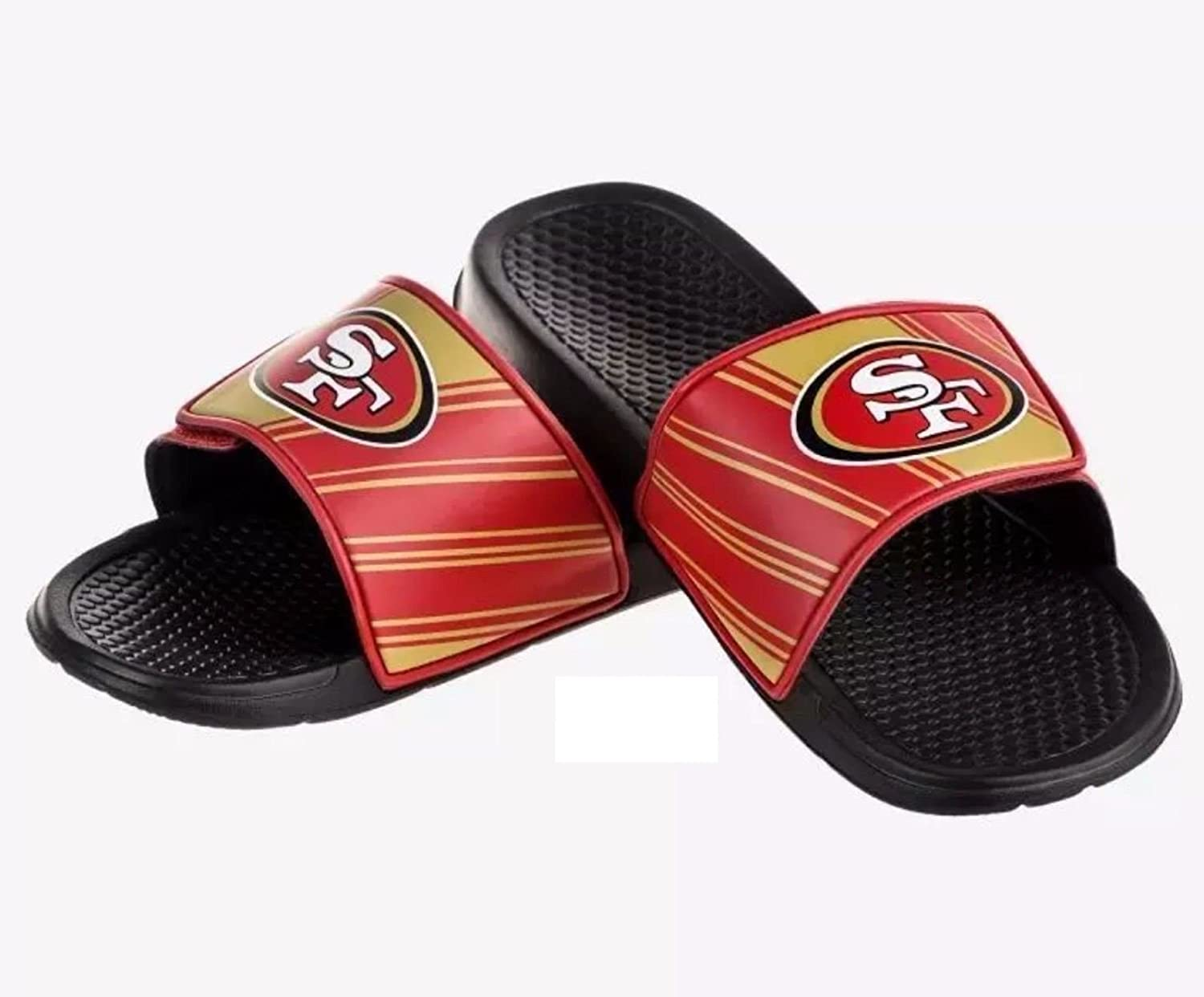 Amazon.com : NFL Football Mens Legacy Sport Shower Slide Flip Flop Sandals  - Pick Team ? : Sports & Outdoors