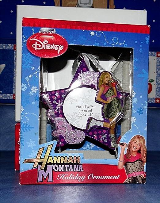 HANNAH MONTANA BOX SET OF 5 HOLIDAY CHRISTMAS ORNAMENT
