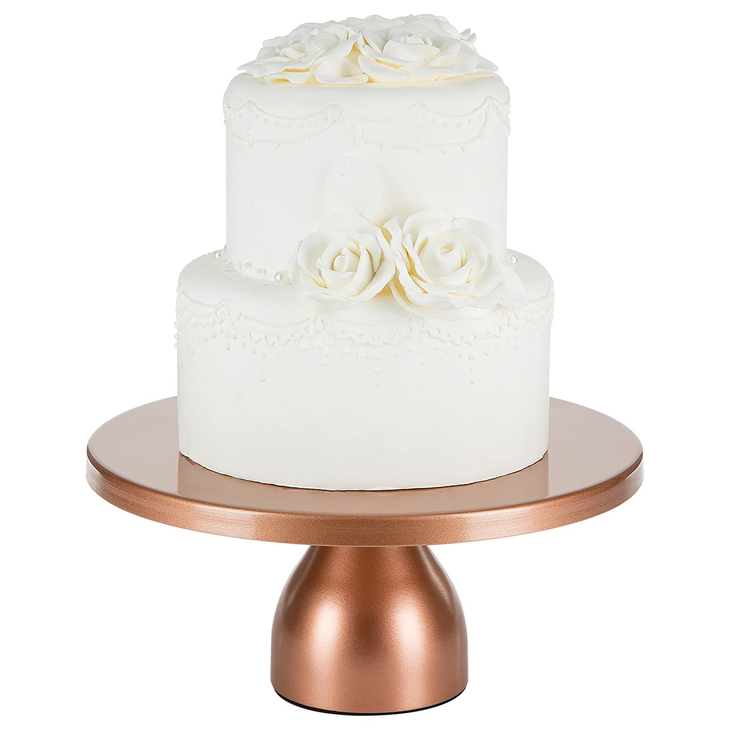 Amazon Com Jocelyn Collection Inch Rose Gold Cake Stand