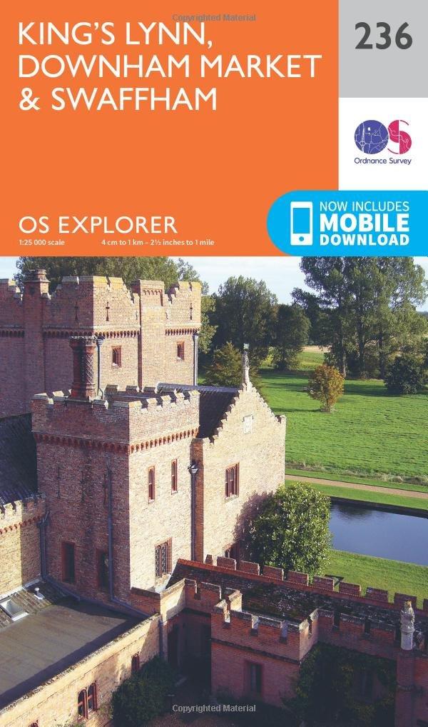King's Lynn, Downham Market and Swaffham (OS Explorer Map) pdf epub