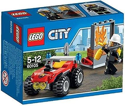 LEGO City - Todoterreno de Bomberos (60105): Amazon.es: Juguetes y juegos