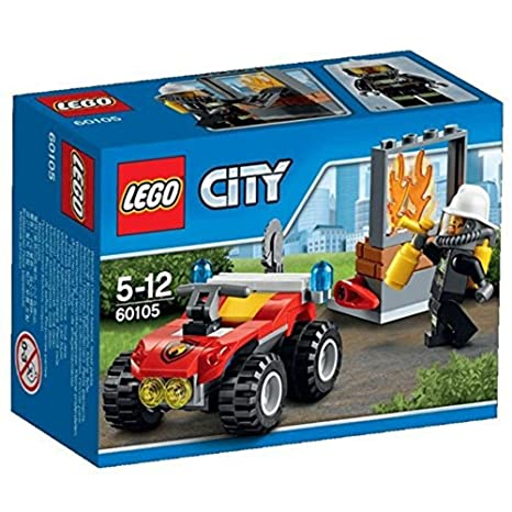 Amazoncom Disco 60105 Lego Fire Atv City Fire Toys Games