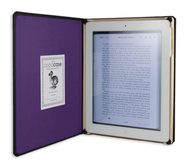 【オープニング大セール】 DODOcase【モレスキン風 iPad2/ iPad2 第3世代 IP311202/ DODOcase 第4世代 iPad対応ケース】 Classic パープル カメラホール付 IP311202 パープル B0091R08AU, 本部町:4edff146 --- a0267596.xsph.ru
