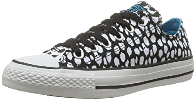 734d6de0e869b1 Converse Chuck Taylor All Star Women s Ox Black White Spots Lo Top 540338F  (Kid s 5