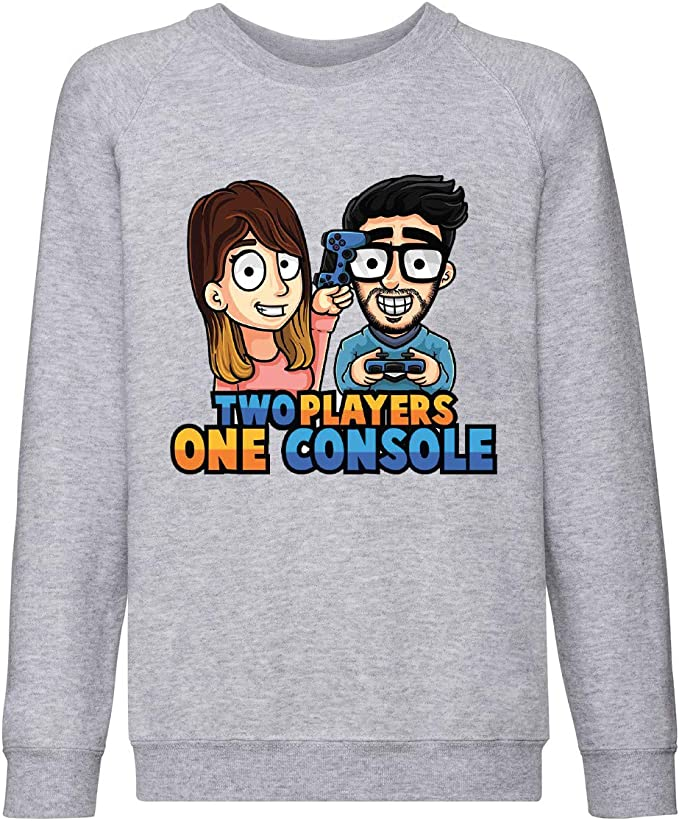 ARTIST T-Shirt Two Players One Console STEF E PHERE Italian Youtuber Gaming V.3