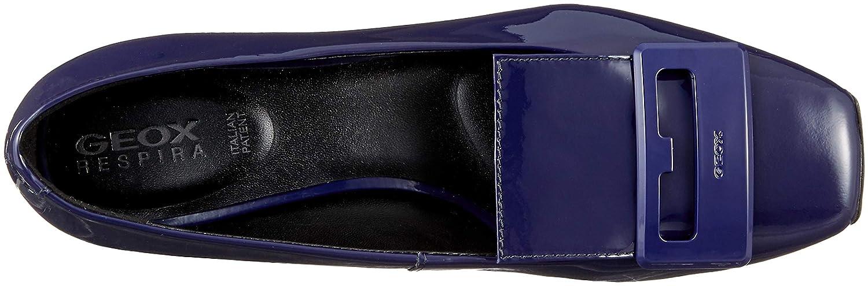Geox Damen D Vivyanne Ballerina C4032) A Geschlossene Ballerinas Blau (Cobalt C4032) Ballerina 59e2ca