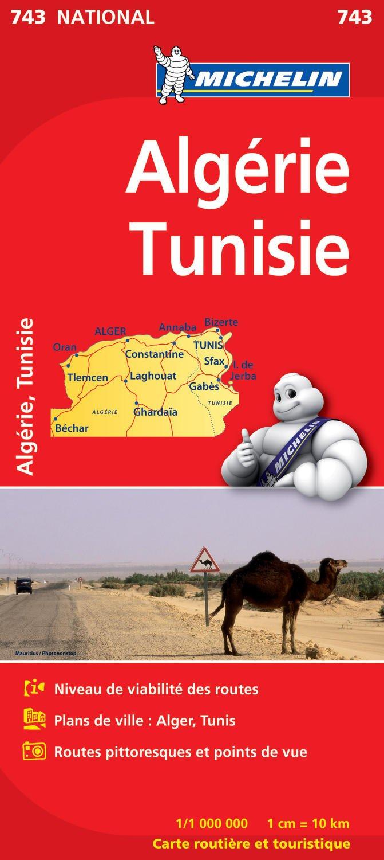 Carte Zero Algerie.Amazon Fr Carte National Algrie Tunisie Collectif