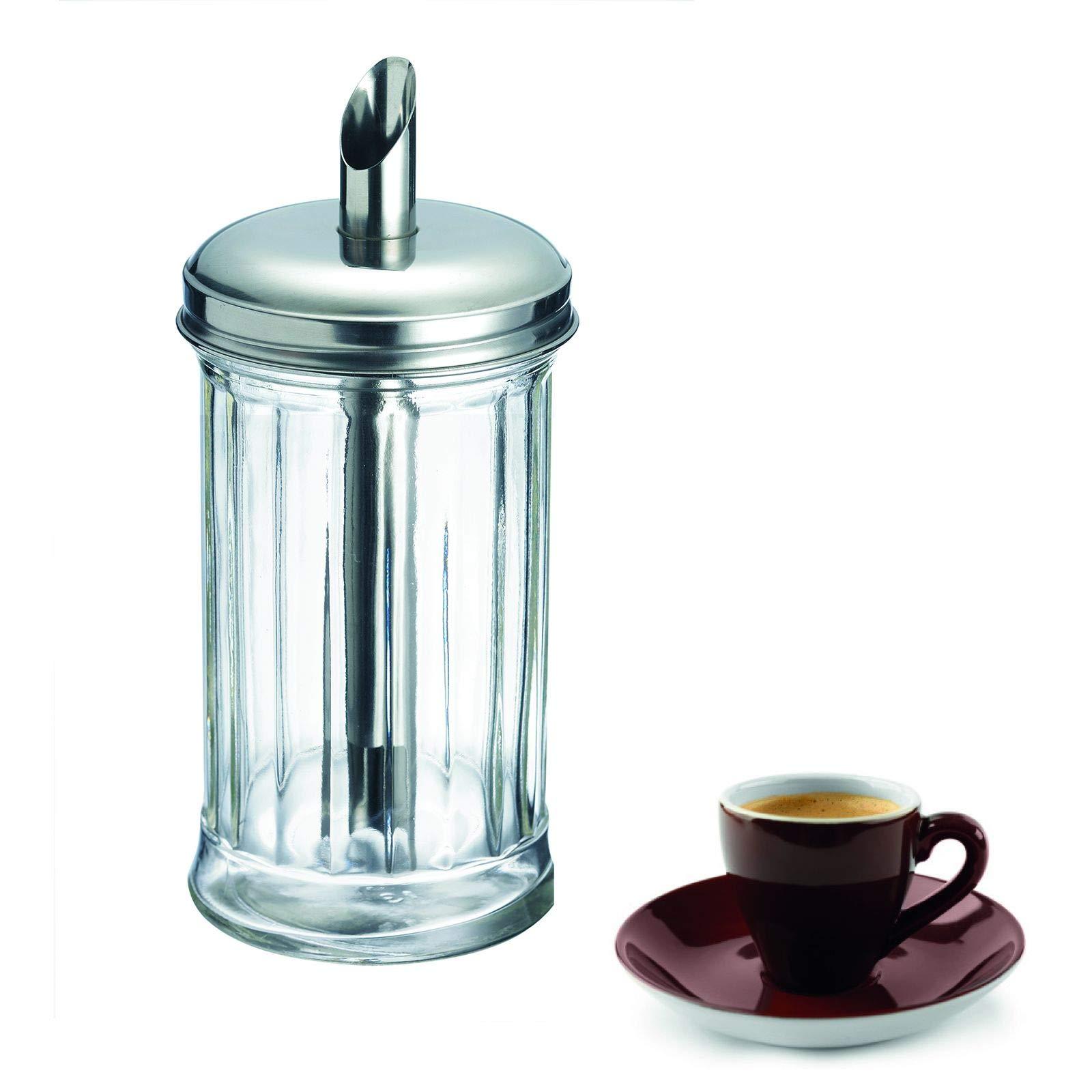 Westmark Germany 'New York' Glass Sugar Dispenser, Stainless Steel by Westmark