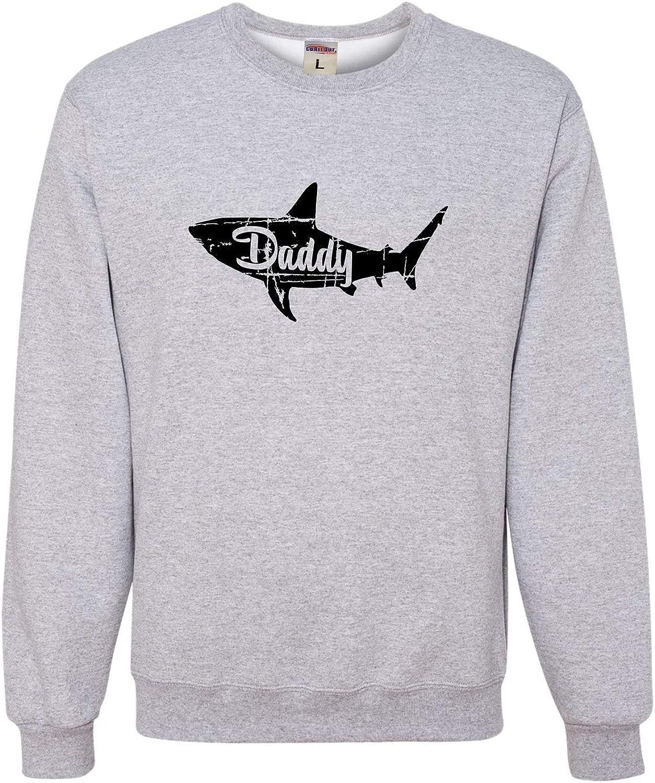 Go All Out Adult Fashion Daddy Shark Sweatshirt Crewneck