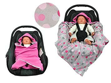 HOBEA Baby Seat Blanket Small Pink