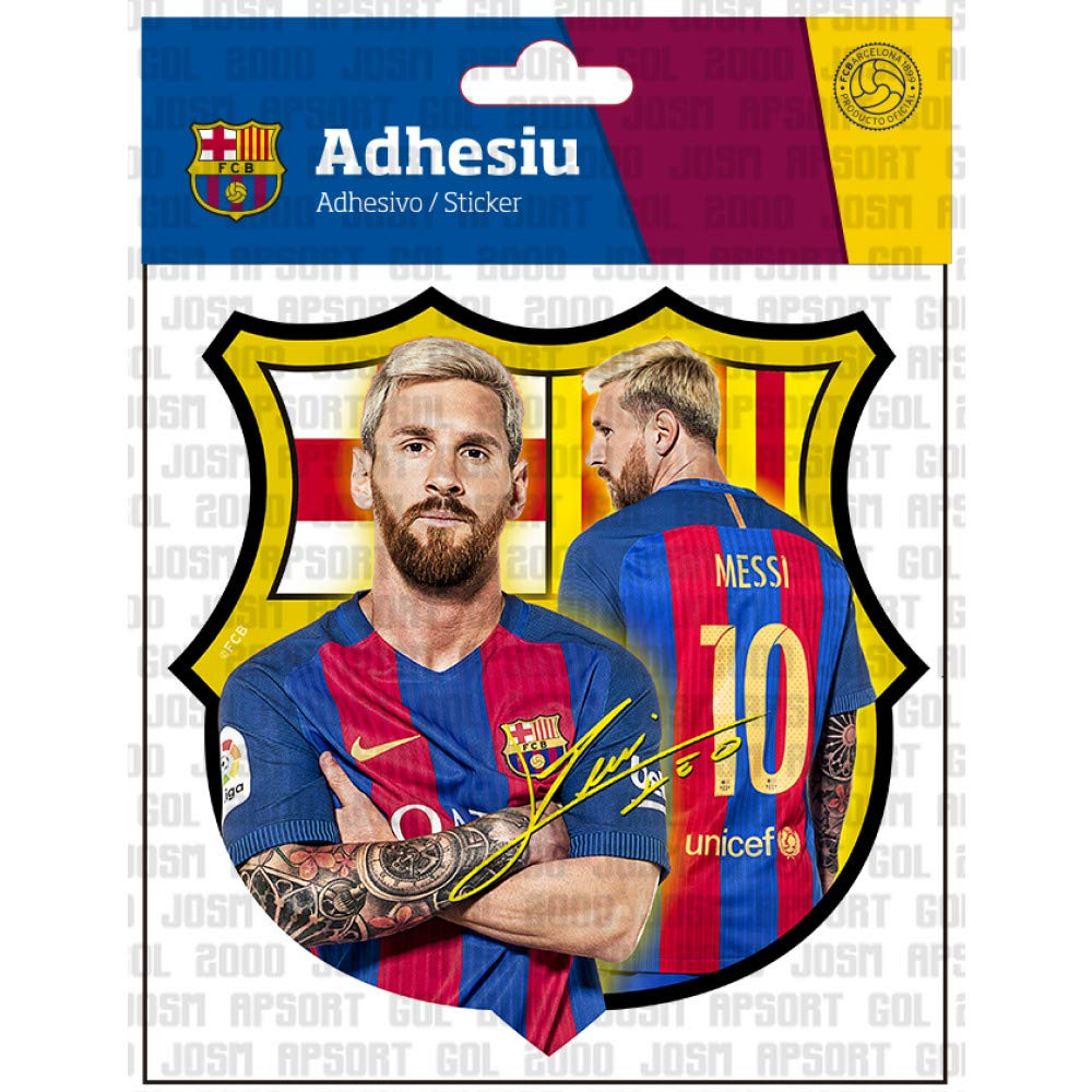 MESSI Official FC BARCELONA sticker limited stock