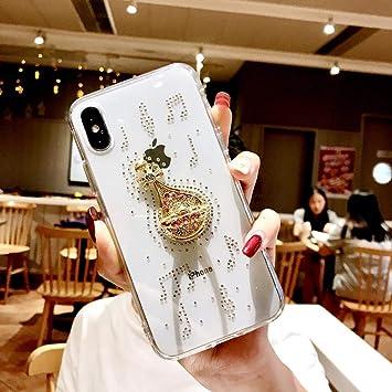 SainCat Compatible con iPhone XR,Cristal de Diamantes ...
