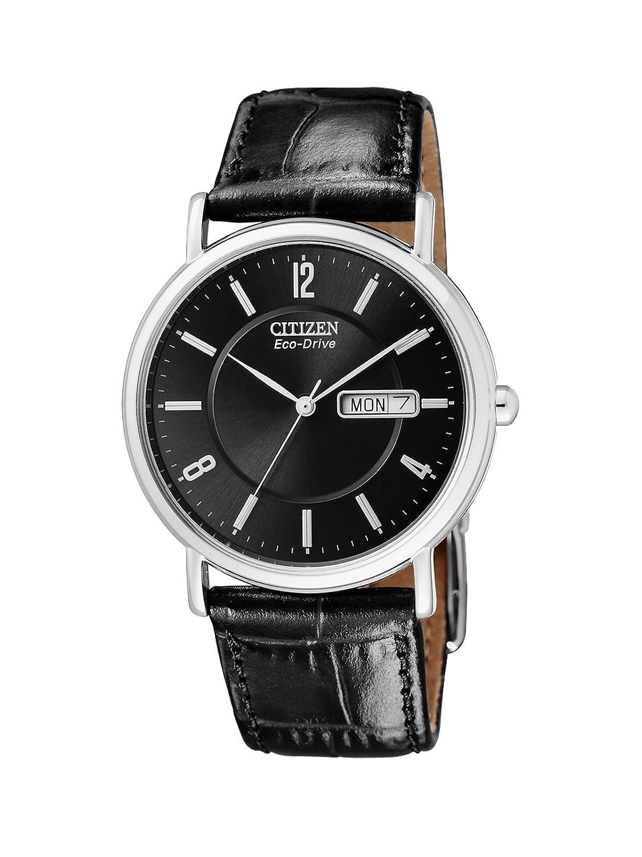 Citizen Herren-Armbanduhr Analog Quarz Edelstahl BM8241-01EE