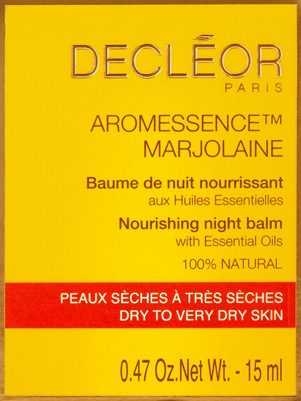 Decleor AD1268 Aromessence Marjolaine Nourishing Night Balm, 0.47 Fluid Ounce, reg multi