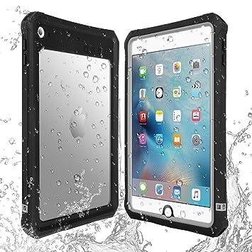 AICase Estuche Impermeable para Apple iPad Mini 5/iPad Mini 4 con Touch ID Muy Sensible y con función Atril extraíble: Amazon.es: Electrónica