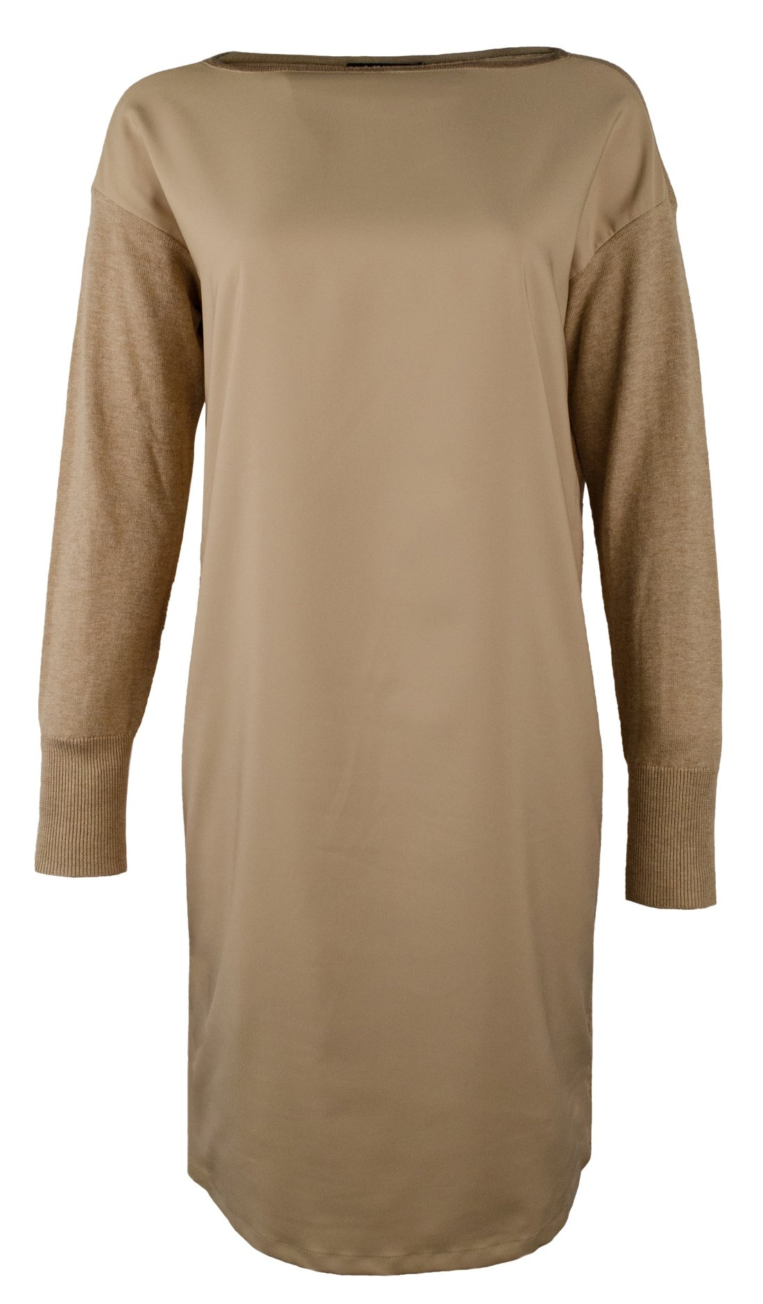 Lauren Ralph Lauren Women's Petite Farheen Twill-Front Sweater Dress-HH-PS by Lauren by Ralph Lauren