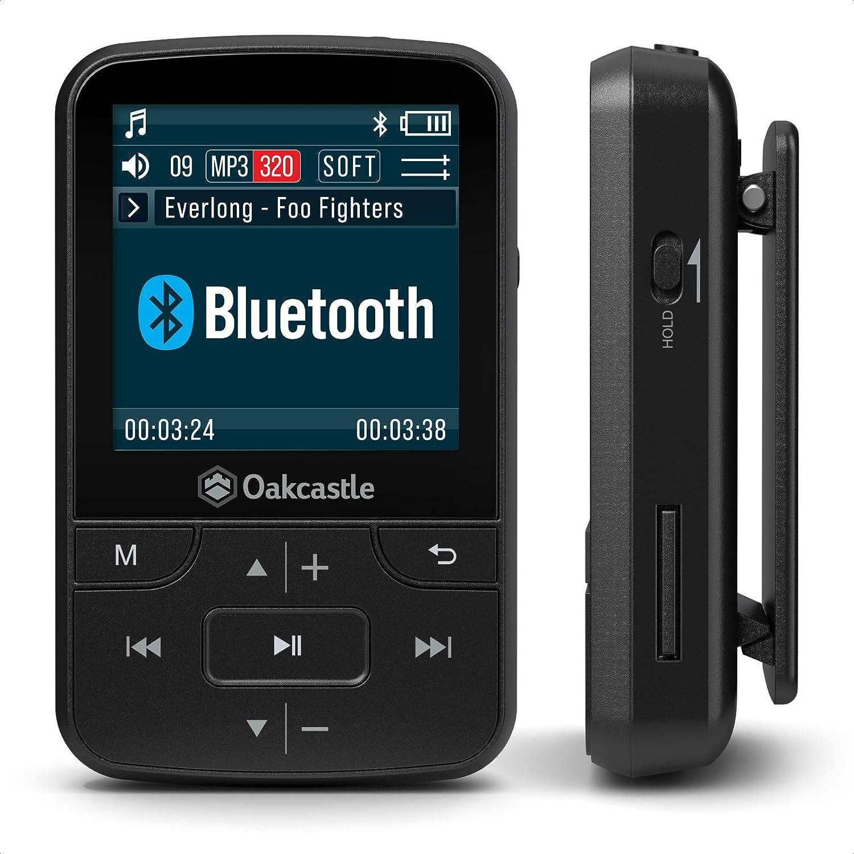 Oakcastle Mp100 8gb Mp3 Player With Bluetooth Radio And Elektronik