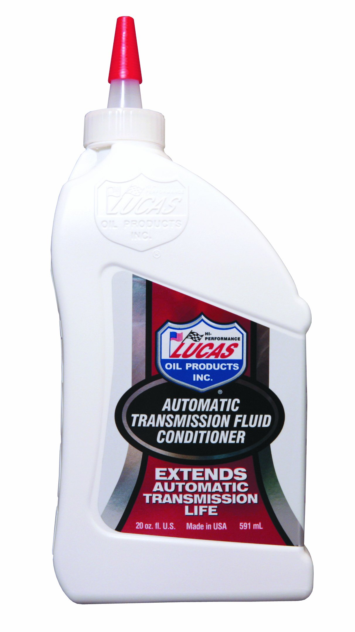 Lucas Oil 10441-12PK Automatic Transmission Fluid Conditioner - 20 oz, (Case of 12) by Lucas Oil
