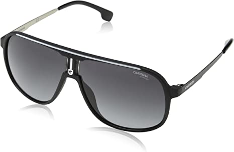 Carrera 1007/S 9O 003 Gafas de sol, Negro (MATT BLACK/DARK GREY SF), 62 Unisex-Adulto