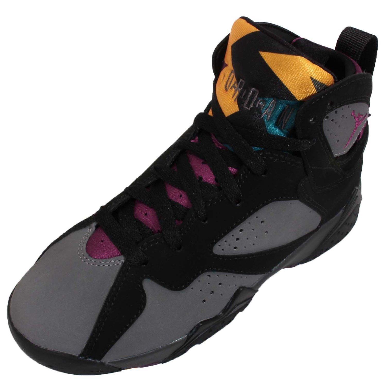 Jordan Air 7 Retro BG Boys Sneakers 304774-034 B011LSUEPK 4.5Y M US|BLACK/BRDX-LT GRPHT-MDNGHT FG