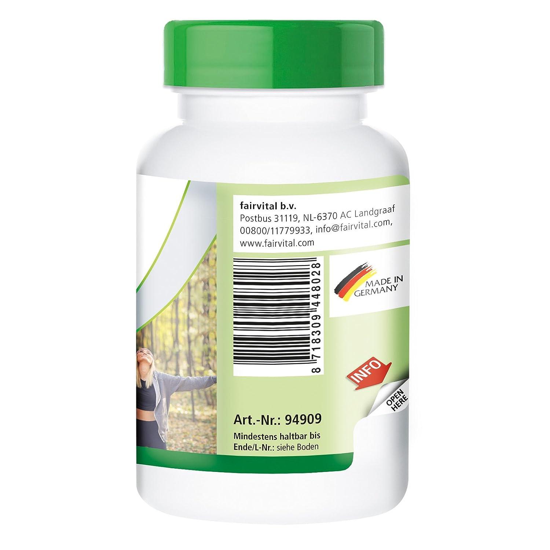200 mg Ácido Pangámico de DMG - Bote para 3 meses - VEGANO - Alta dosificación - 90 cápsulas - dimetilglicina: Amazon.es: Salud y cuidado personal
