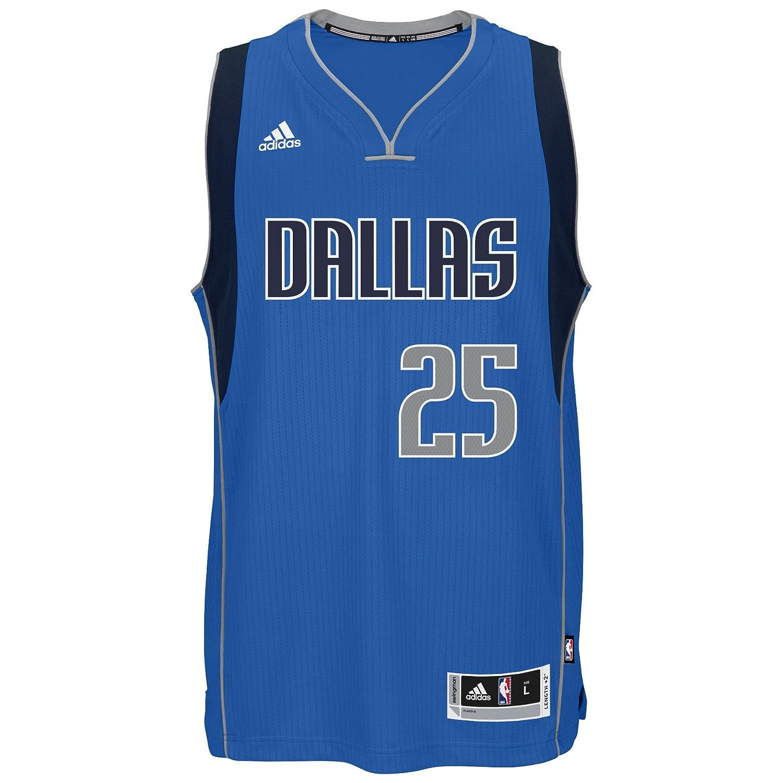 fc11e56f93a2e Amazon.com : adidas Chandler Parsons Dallas Mavericks NBA Men's Blue ...