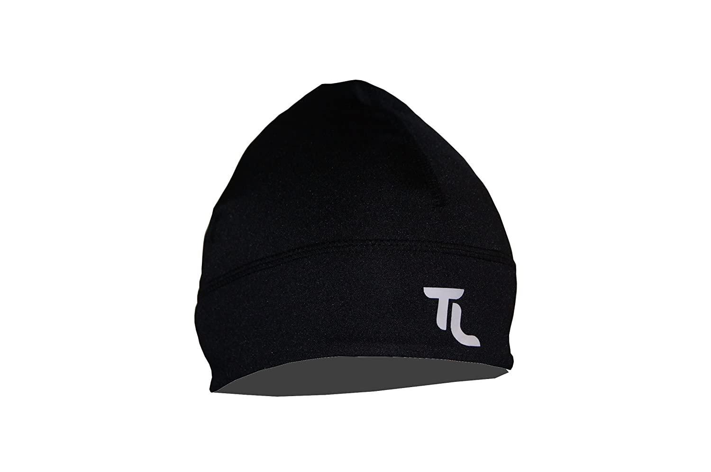 Laufmütze Microfaser Laufmütze Running Cap Triathlon Farbe: schwarz