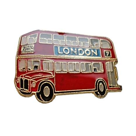 My London Souvenirs Esmalte Pin, Pin de Big autobús Rojo de Londres – Londres Souvenir