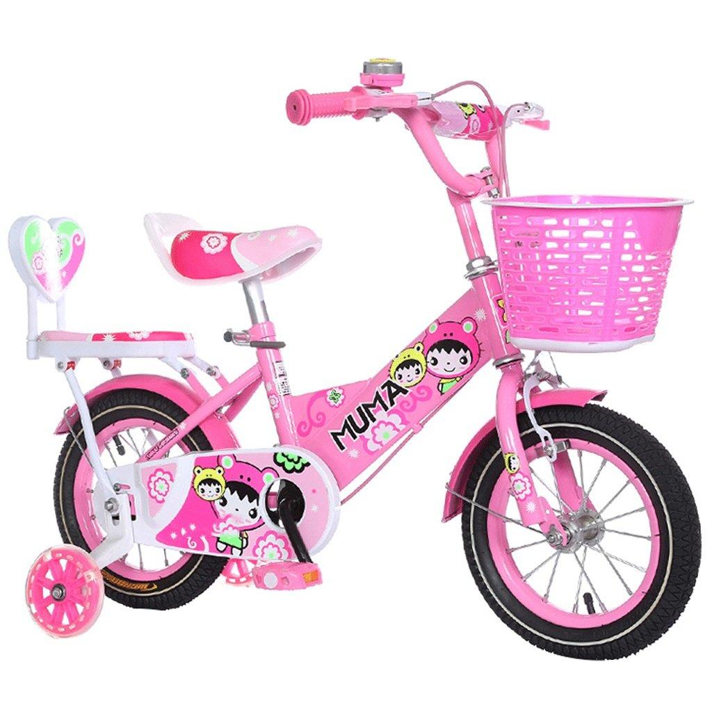 自転車 子供用自転車2-3-4-6-7-8-9-10歳の赤ちゃんペダル自転車赤ちゃんの少年少女の姫 (サイズ さいず : 18inch) B07DPNMZDP 18inch 18inch