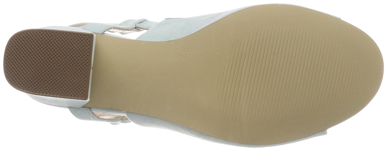 Bianco Damen Mule Sandalen Offene Sandalen Mule Türkis (Mint) 13b932