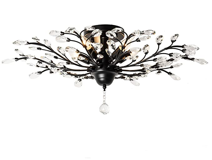 Capable New Led Chandeliers For Living Room Bedroom Dining Room Acrylic Iron Body Interior Home Chandelier Lamp Fixtures Fine Workmanship Ceiling Lights & Fans