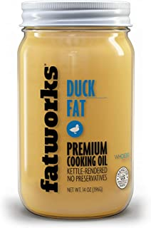 product image for Fatworks, USDA Cage Free Duck Fat, Premium Gourmet Cooking Oil, Kettle Rendered No Preservatives, WHOLE30, KETO, PALEO, 14 oz