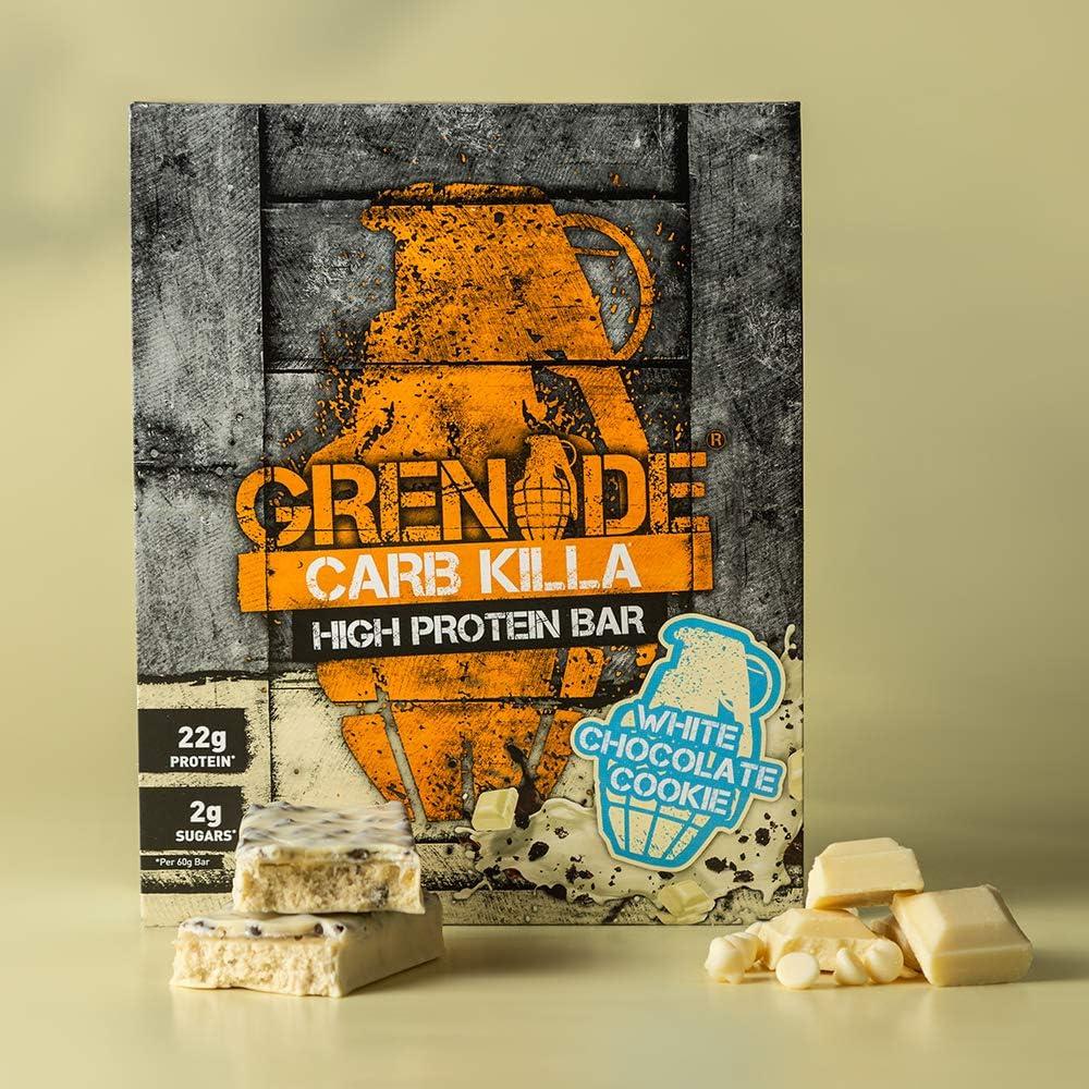 Grenade Carb Killa Barras de Proteína