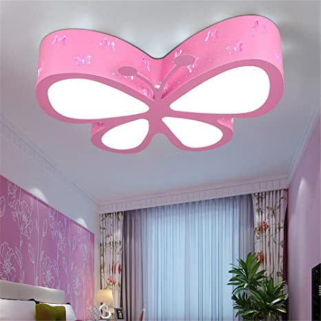 leihongthebox ceiling lights lamp children butterfly ceiling led rh amazon com