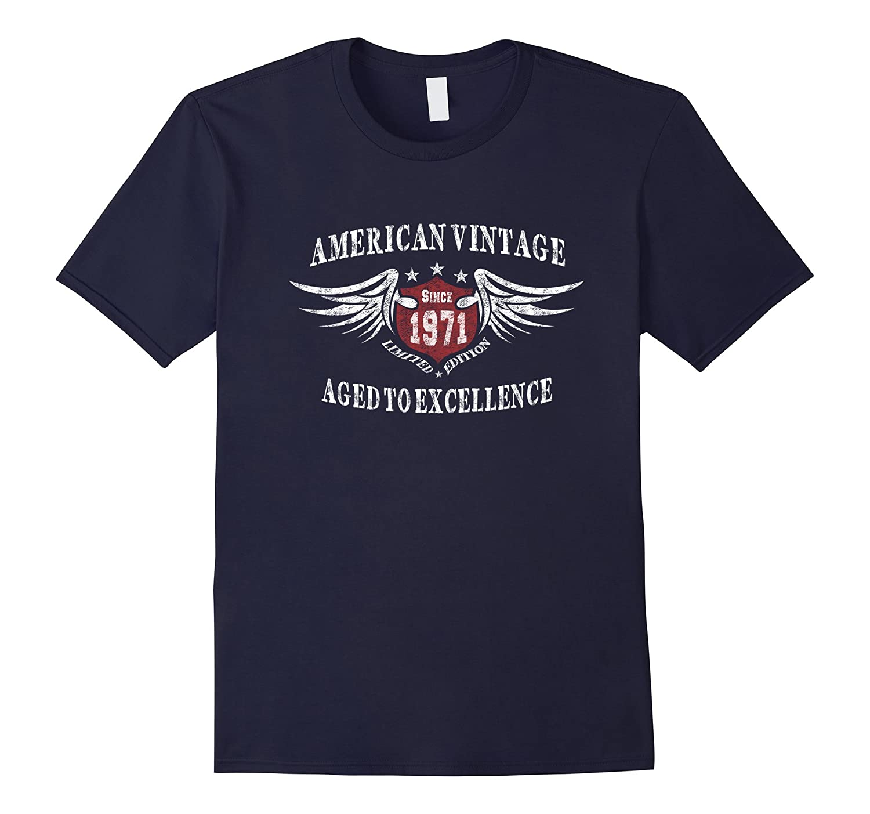 American Vintage 1971 Birthday Gift T-shirt For Men Women-CD