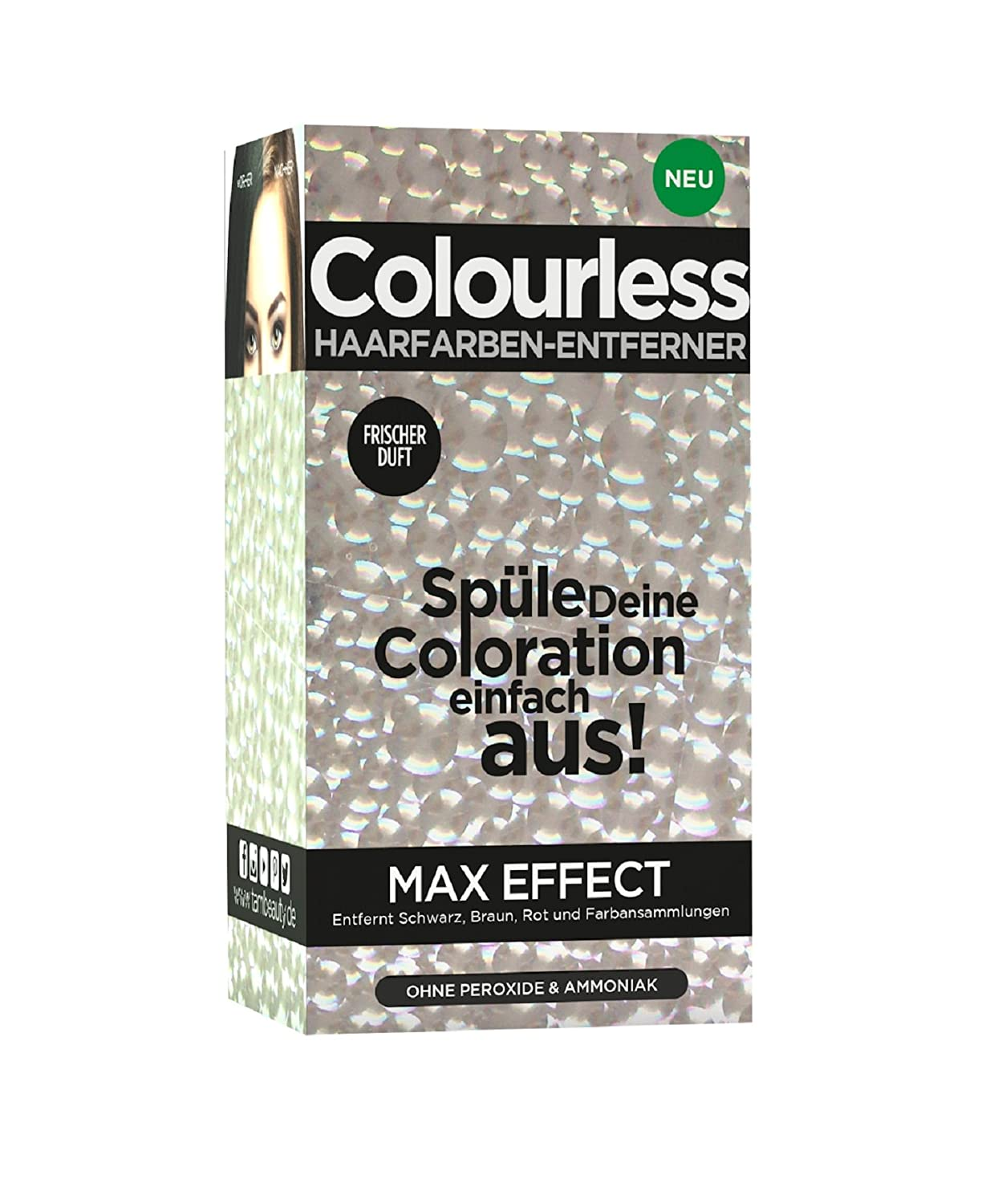 Colourless Max Effect Hair Colour Remover Tam Beauty 108257781