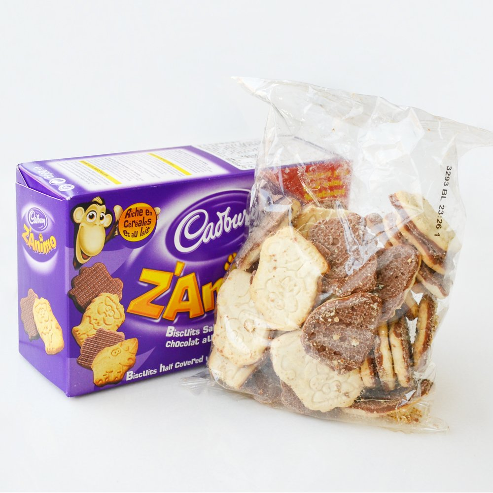 Paquete Galletas ZAnimo Cabury 200 Gr: Amazon.es: Alimentación y bebidas