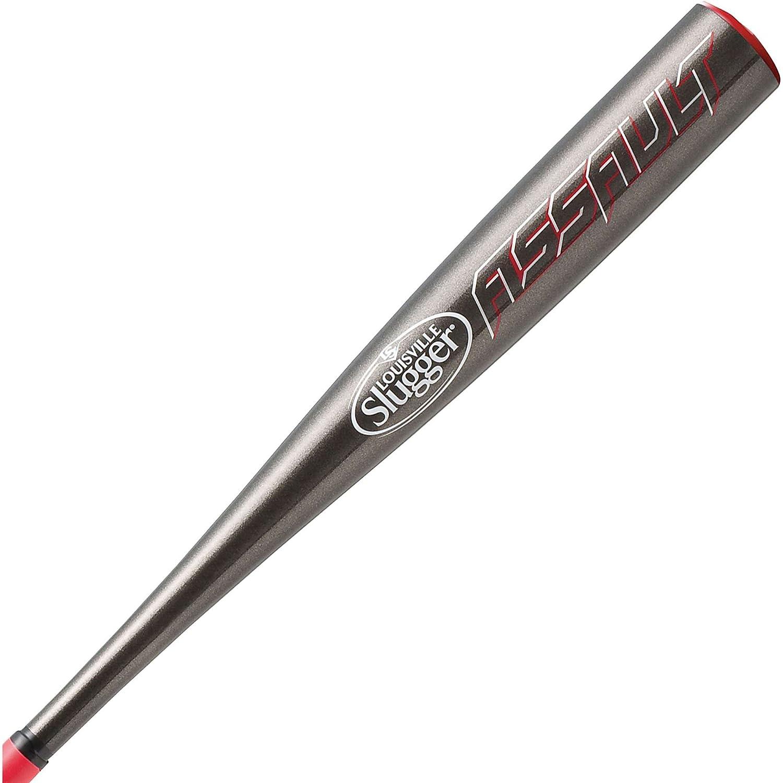 Louisville Slugger 2014 SL Assault -10 Baseball Bat with 2 5 8-Inch Barrel, 30-Inch 20-Ounce