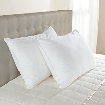 Luxury Hotel Bedding Collection Hypoallergenic EnviroLoft Down Alternative  Pillow   Medium Density (Queen 20u0026quot;