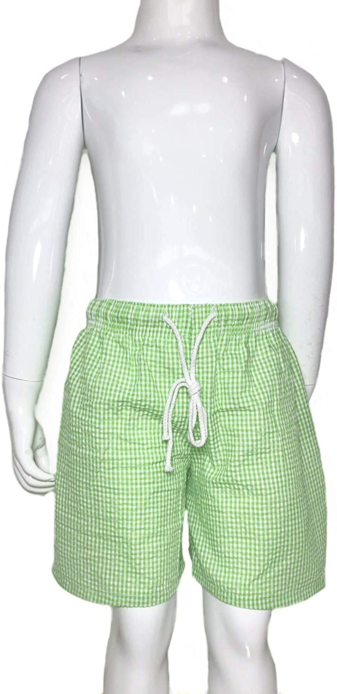Navy Seersucker Ready to Ship Green Baby Boys Seersucker Swim Trunks Light Blue Boys Red Toddler Swimsuit