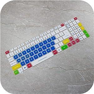 Laptop Keyboard Cover Protector for Acer Aspire Nitro 5 An515 54 15.6'' / Aspire Nitro 7 An715 51 17.3'' Predator Gaming an 515-Candy Blue-