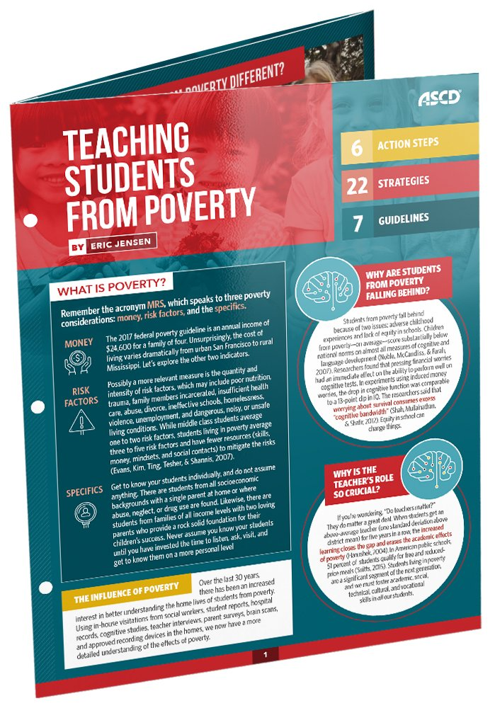 Teaching Students Poverty Quick Reference product image