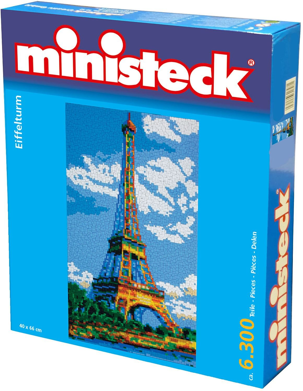 Ministeck Ministeck31862 Eiffelturm Plug Picture (6300-Piece)