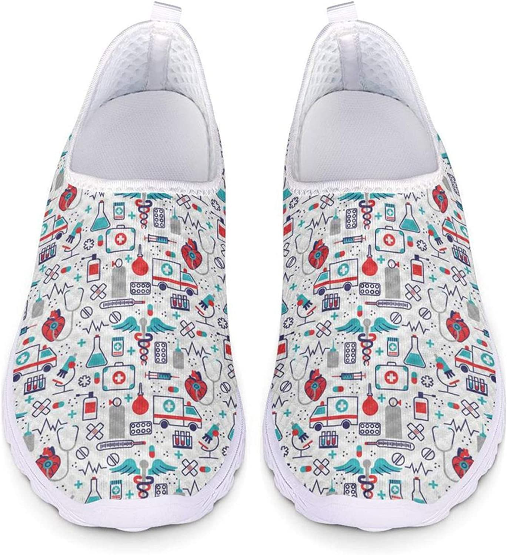 Agroupdream Las Mujeres se Deslizan en los Zapatos de Malla Respirable Sneakers EU 36-43