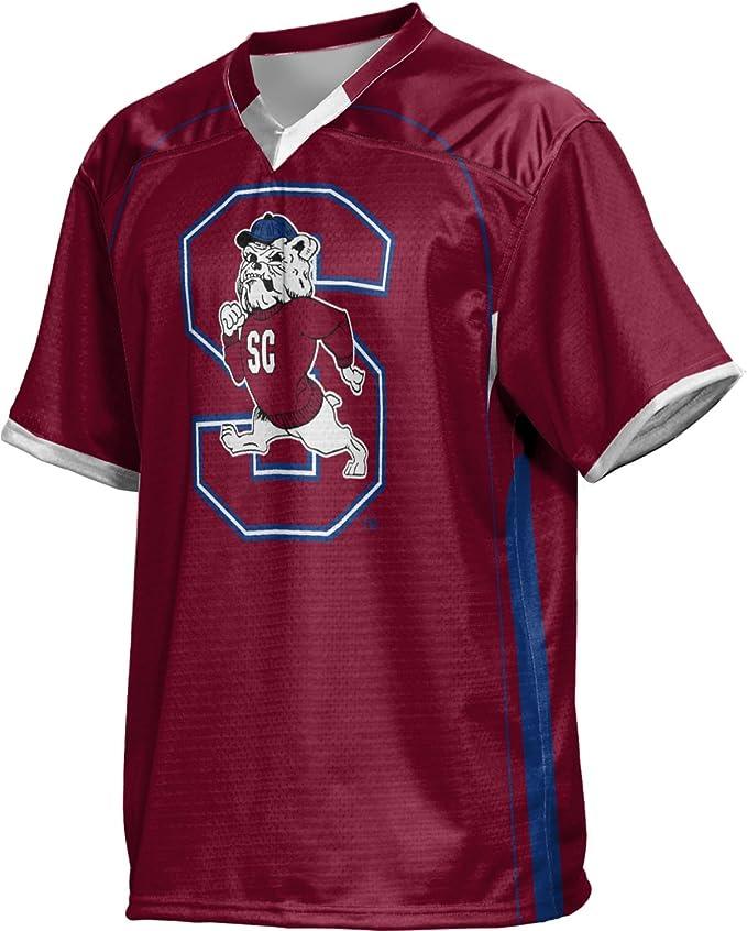 ProSphere Men/'s South Carolina State University No Huddle Football Fan Jersey