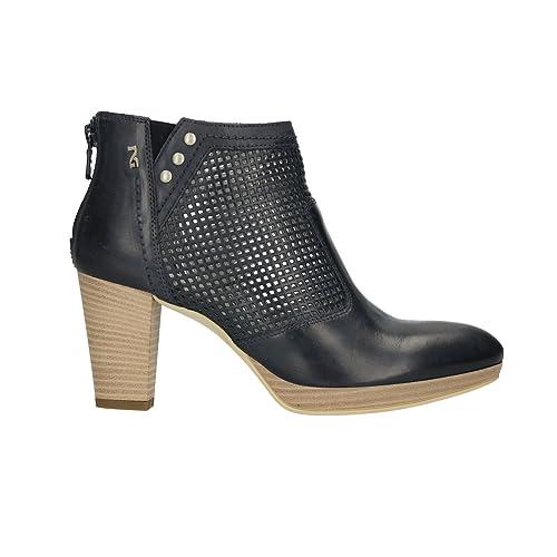NERO GIARDINI Polacchini scarpe donna blu 5011 mod. P805011D