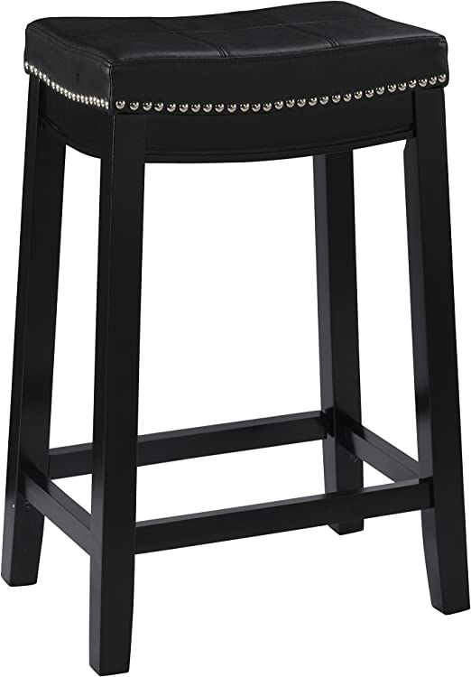 15-Inch by 18-Inch Deco 79 Metal Stool