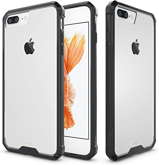Funda iPhone 8 Personalizada Flexible y Transparente en Black
